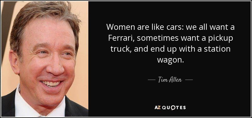 Car and women quote