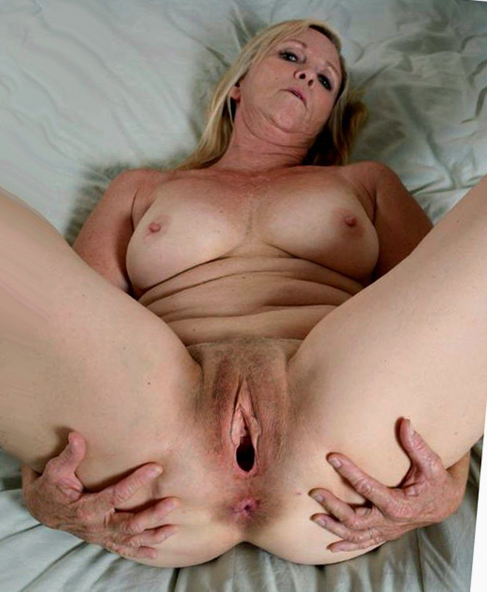 best of Hairy vaginas spreading open Mature females