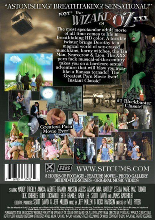 Porn wizard of oz clip adult archive