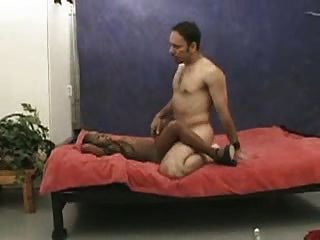 Bisexual men with shaved cock