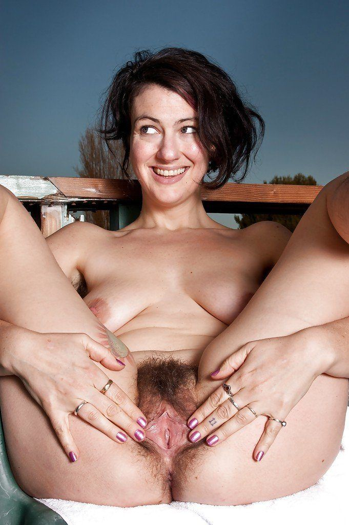 best of Outdoor Hairy milf