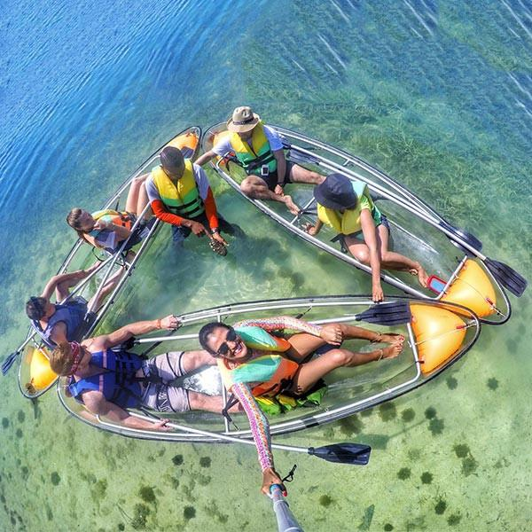 Picture of glass bottom kayak