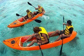 best of Kayak Picture bottom of glass