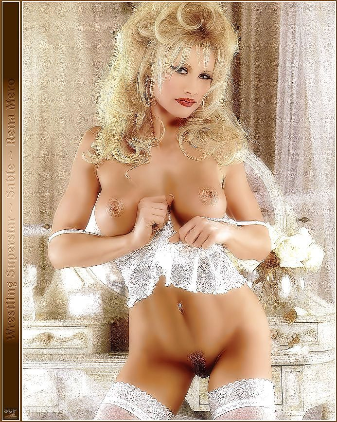 Betty B. reccomend Wwe star sable nude